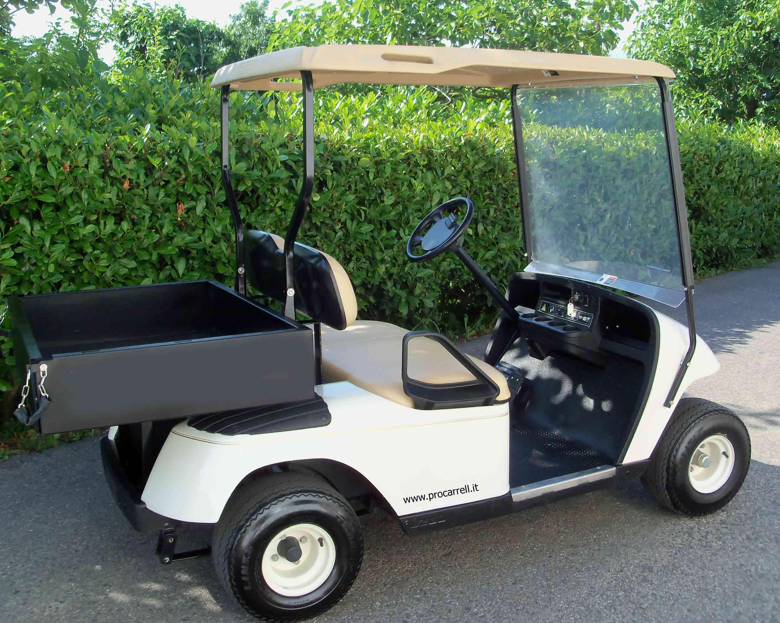 golf car e veicoli elettrici,portapersone,mezzi elettrici