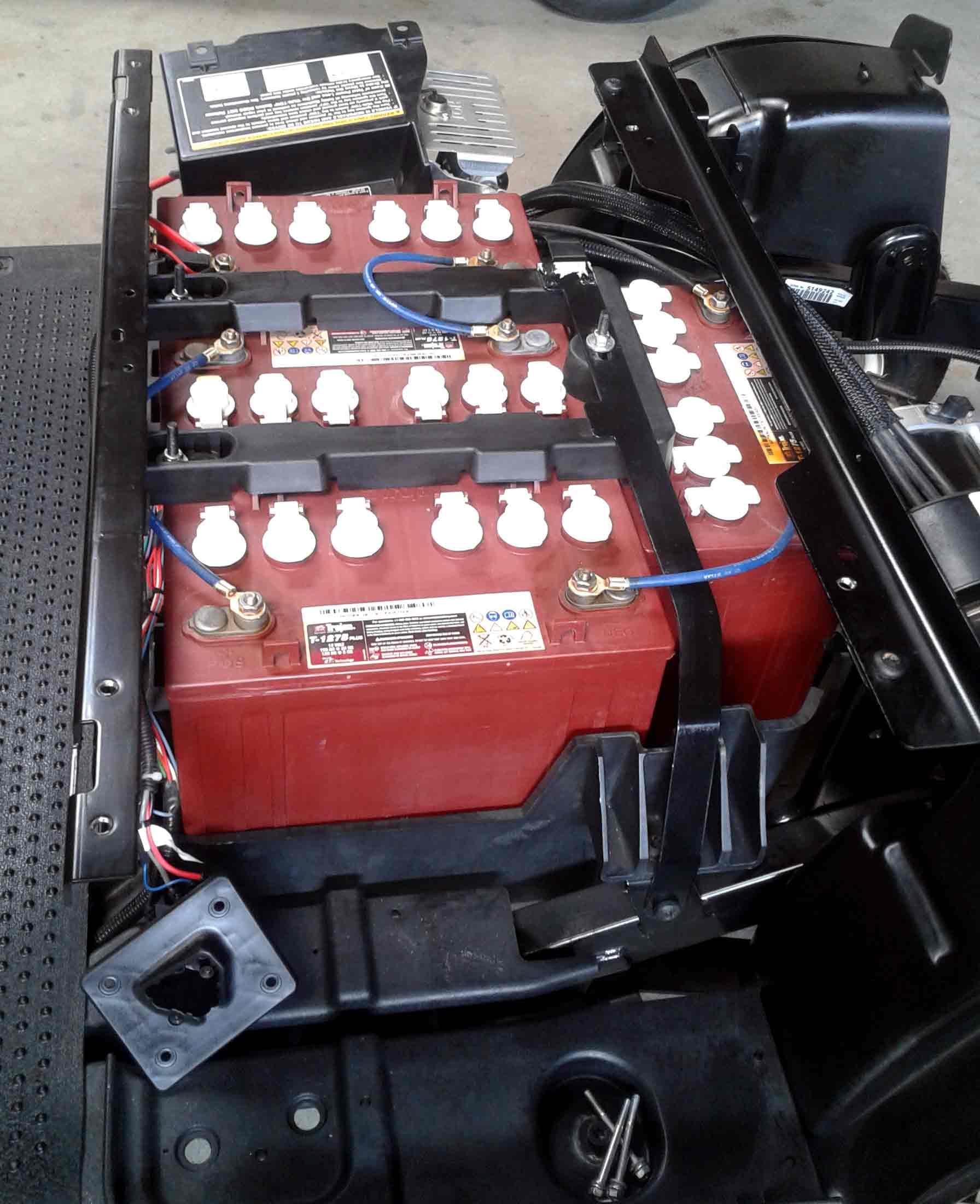 golf car ezgo RXV