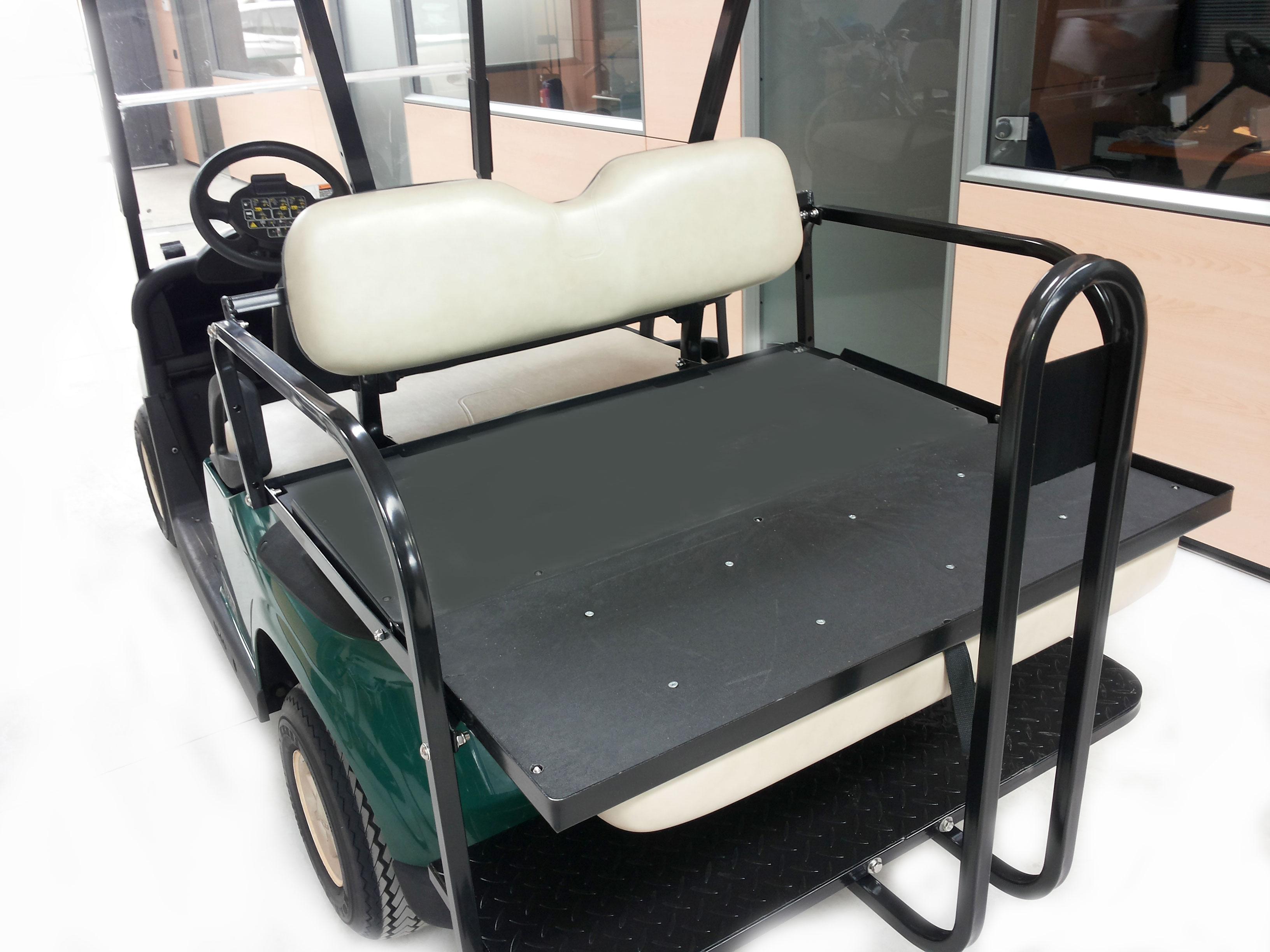 golf car usata ezgo verde con flip flop