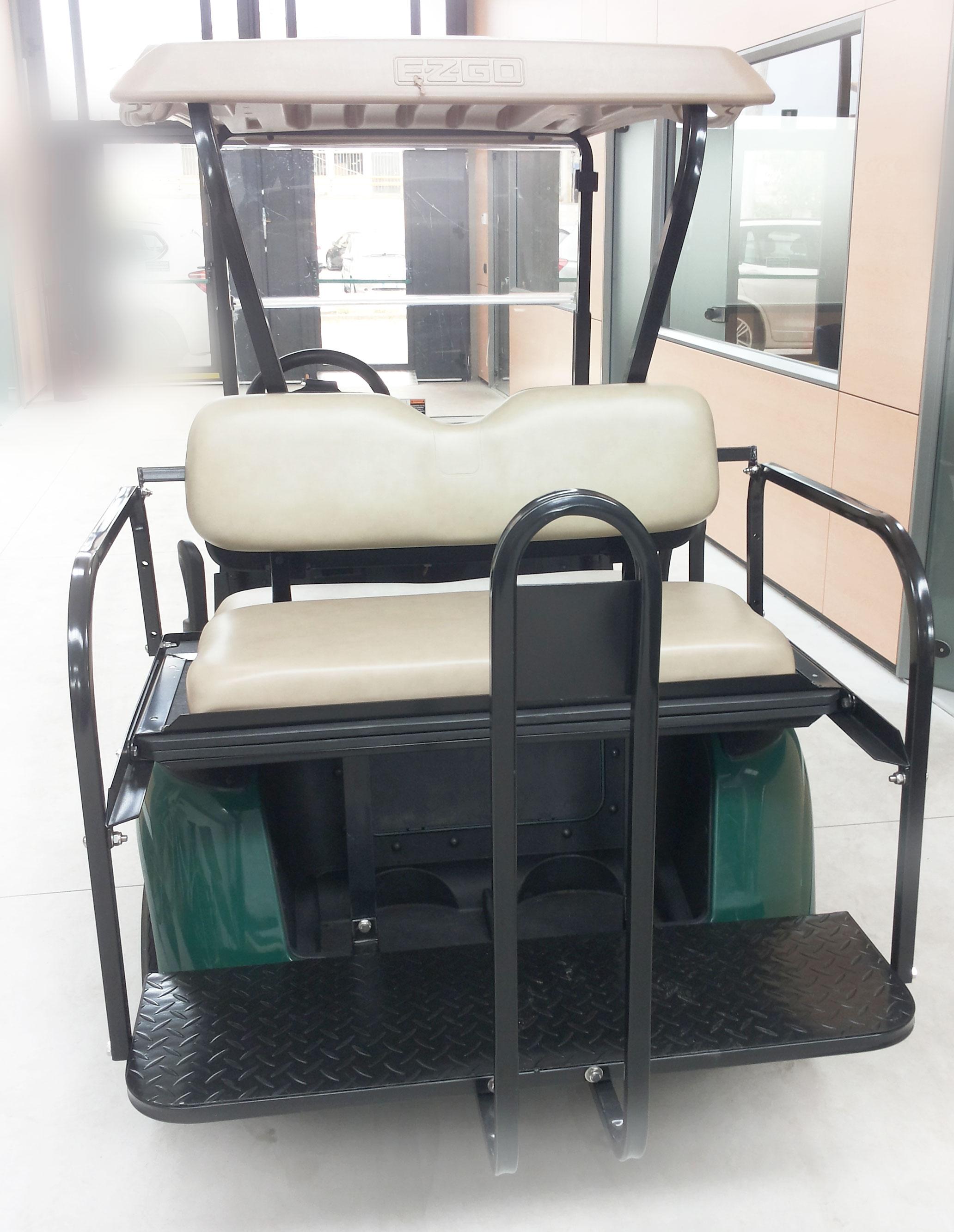 golf cart ezgo usata revisionata verde