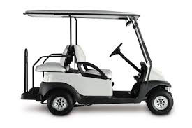 golf car 2+2 bianco